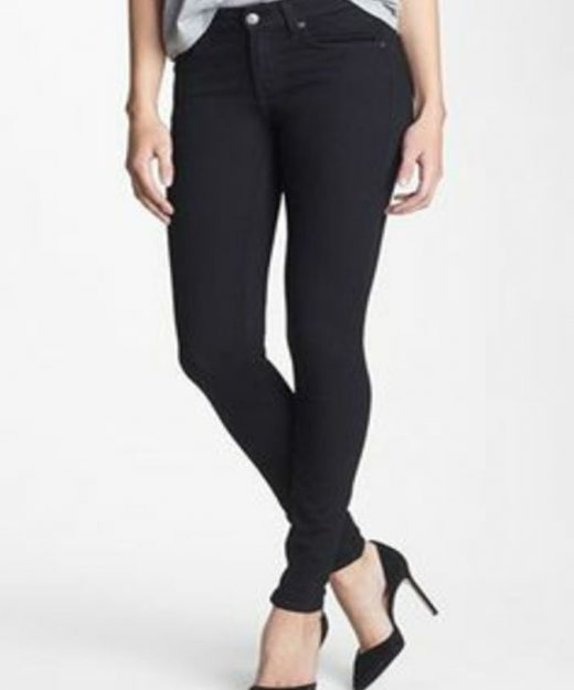 ladies-black-twill-pants