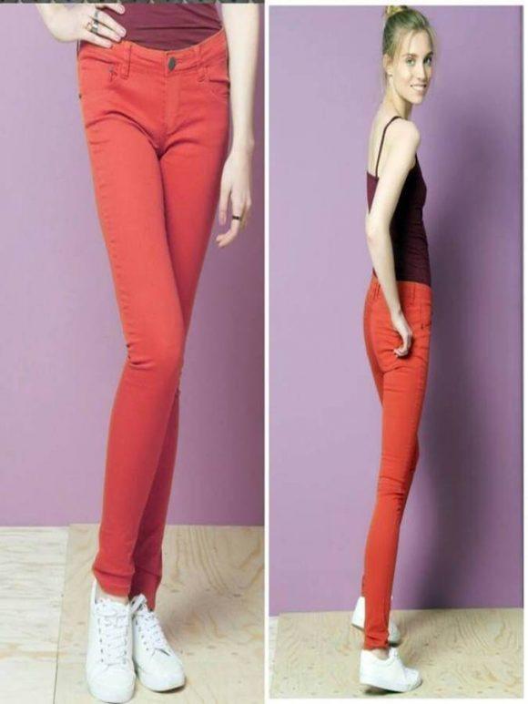 terranova-skinny-twill-pants