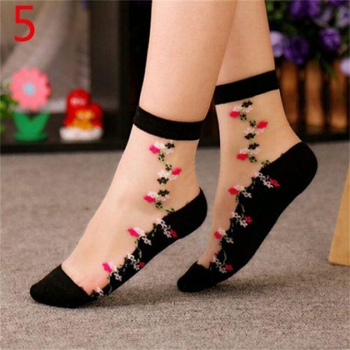floral-socks