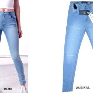 bershka-high-waist-ripped-light-blue-jeans