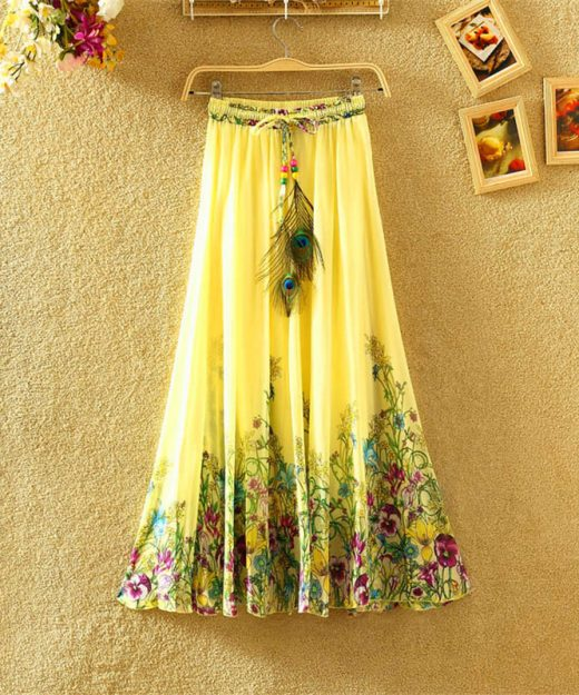 elegant-skirt-style-3-yellow