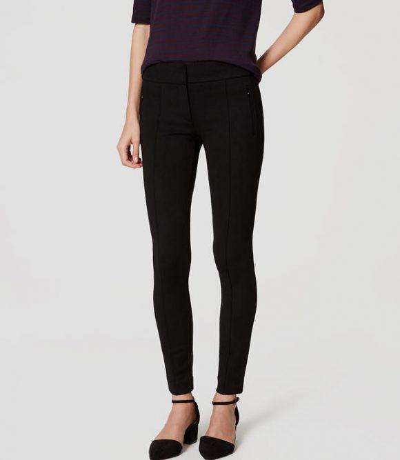loft-zip-pocket-pintucked-ponte-pants-black