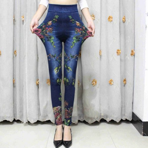 colorful-floral-leggings