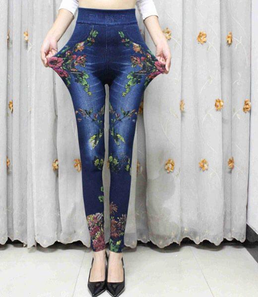 colorful-floral-leggings