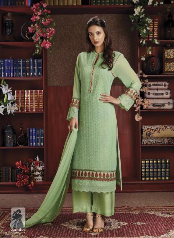 salwar-kameez-embroidery-green