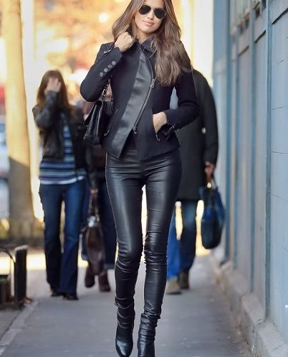 high-waist-leather-jeggings