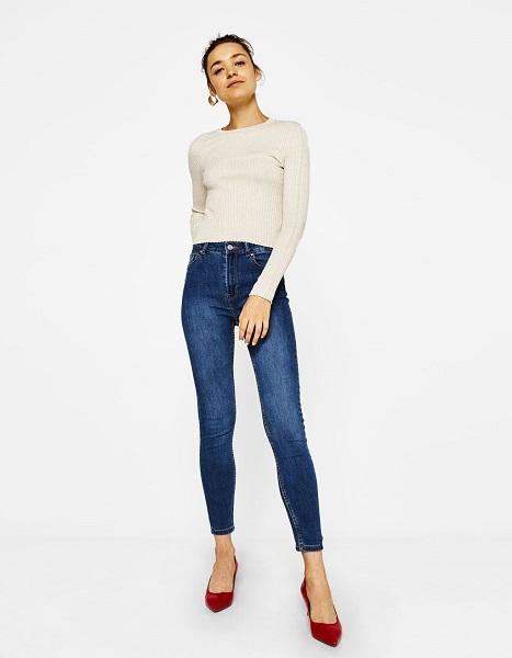 bershka-skinny-high-waist-jeans-s-blue