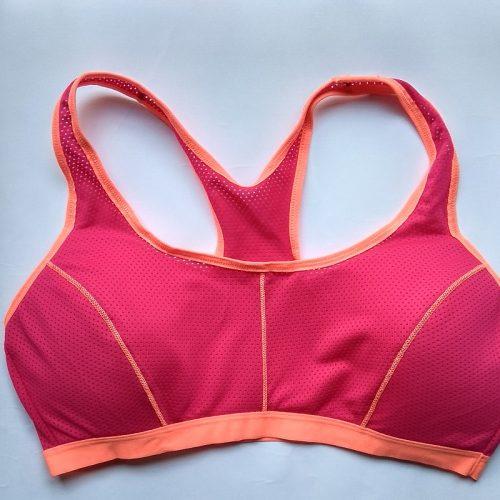 fitness bra royal maroon