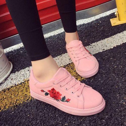 pink-rose-shoe