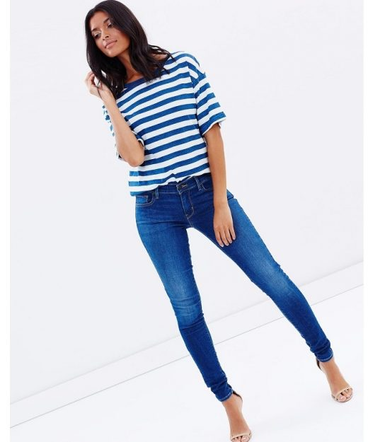 Only-Navy-Skinny-High-Waist-Jeans-A