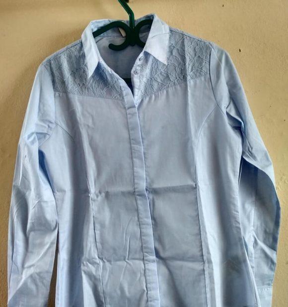 ladies-blue-shirts
