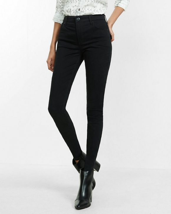 only-black-high-waist-skinny-jeans