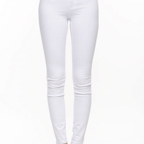 only-white-high-waist-skinny-jeans