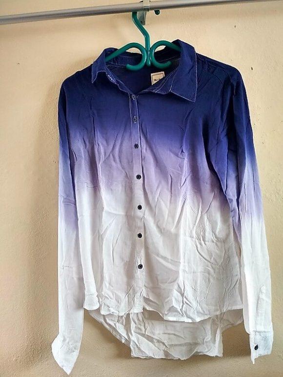 women-blue-white-shirts