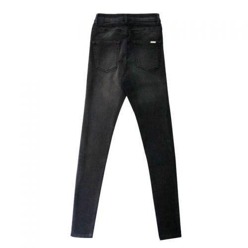 Black-Super-Skinny-Stretchable-Jeans-Pants-Denim-1982-2