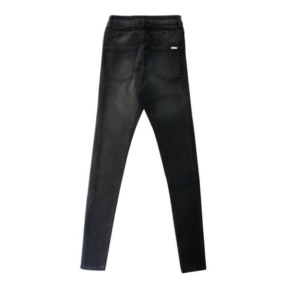 Black-Super-Skinny-Stretchable-Jeans-Pants-Denim-1982-2
