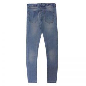 Blue-Super-Skinny-Stretchable-Jeans-Pants-Denim-1982-2