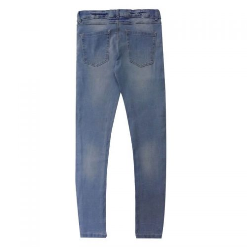 Blue-Super-Skinny-Stretchable-Jeans-Pants-Denim-1982-2