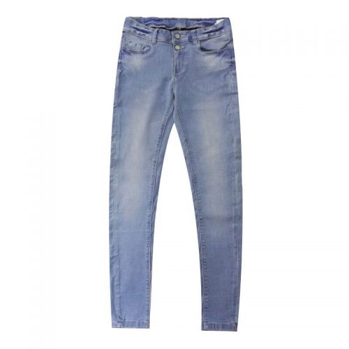 Blue-Super-Skinny-Stretchable-Jeans-Pants-Denim-1982