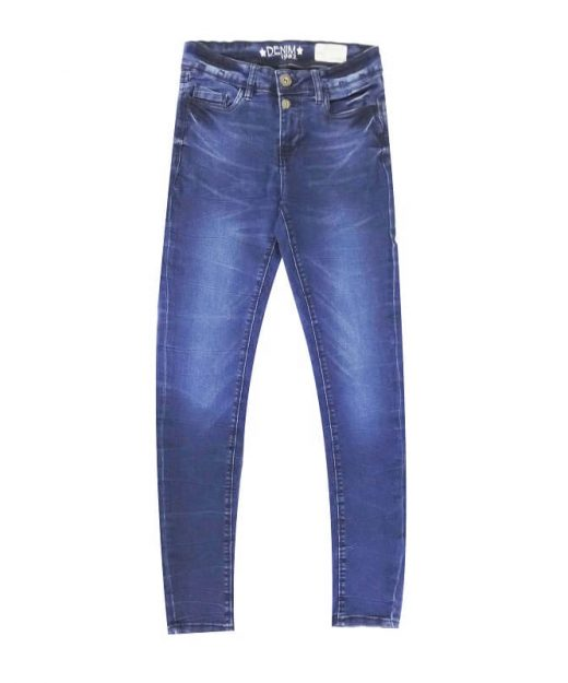 Navy-Blue-Super-Skinny-Stretchable-Jeans-Pants-Denim-1982
