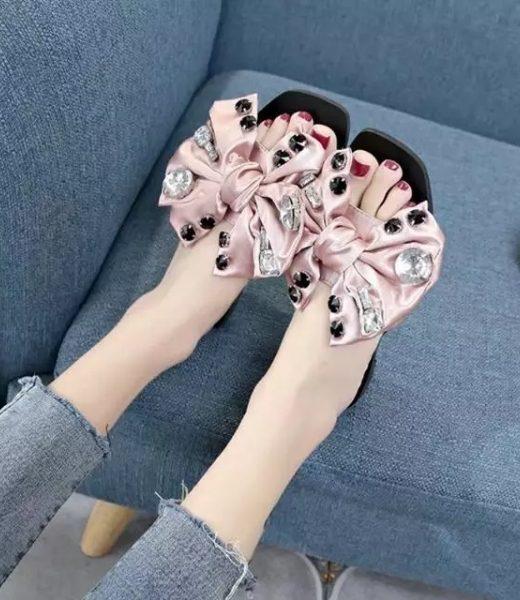 flower-style-slipper