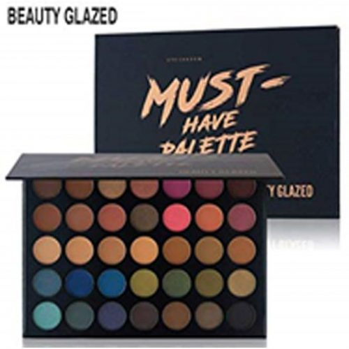 Beauty Glazed 35 Color High Gloss Matte Eyeshadow (Must Have Palette) – 400gm - TSH1081