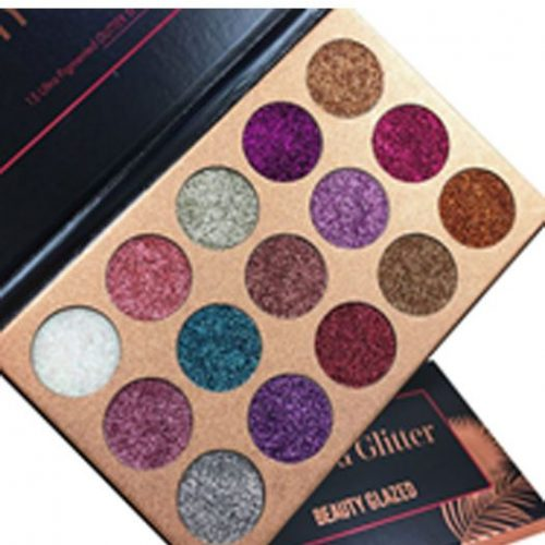 Beauty Glazed Diamond Glitter Eyeshadow Palette - 15gm - TSH1083