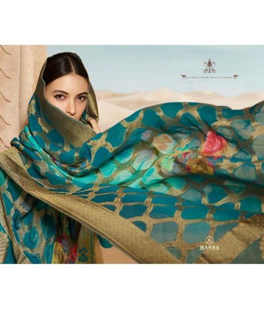 Hansa-Present-Husna-Banaras-Vol-5-Satin-Georgette-Salwar-Kameez-With-Banarasi-Viscose-Dupatta-8