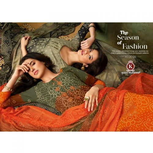 Kala-Fashion-Tanya-Vol-2-Cotton-Embroidery-Bandhani-Style-Salwar-Kameez-