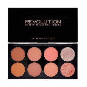 Makeup Revolution Ultra Blush Palette Hot Spice