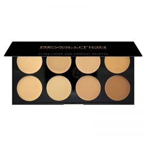 makeup-revolution-ultra-cover-and-concealer-palette-light-medium