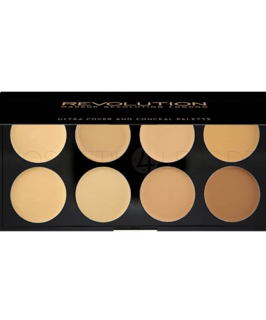 makeup-revolution-ultra-cover-and-concealer-palette-light-medium