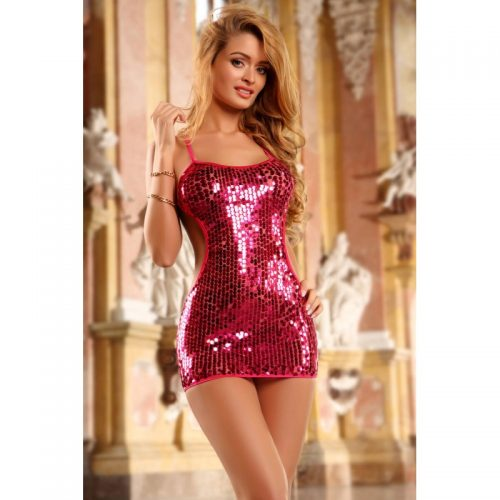 2PC shining sequin dress & thong-bodystocking-larkyparky.com
