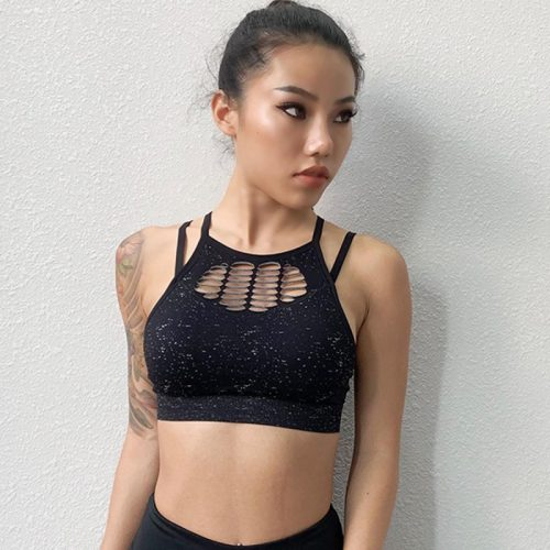 branded-sports-bra-black