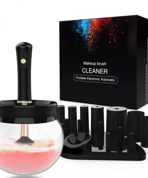 makeup-brush-cleaner-portable-electronic-autometic-black