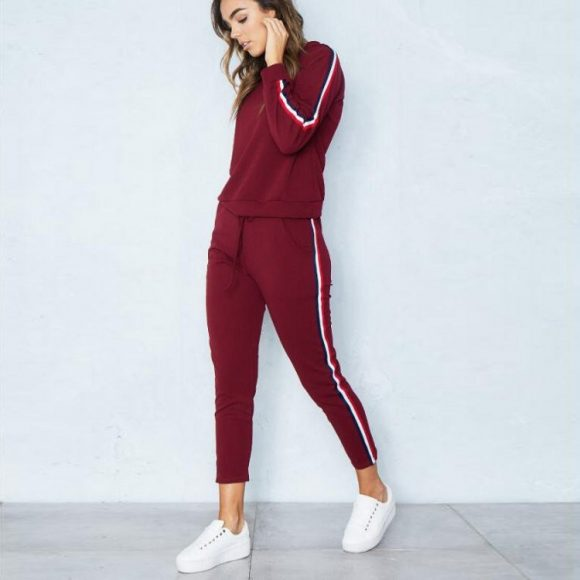 woman-tracksuit-red-wine